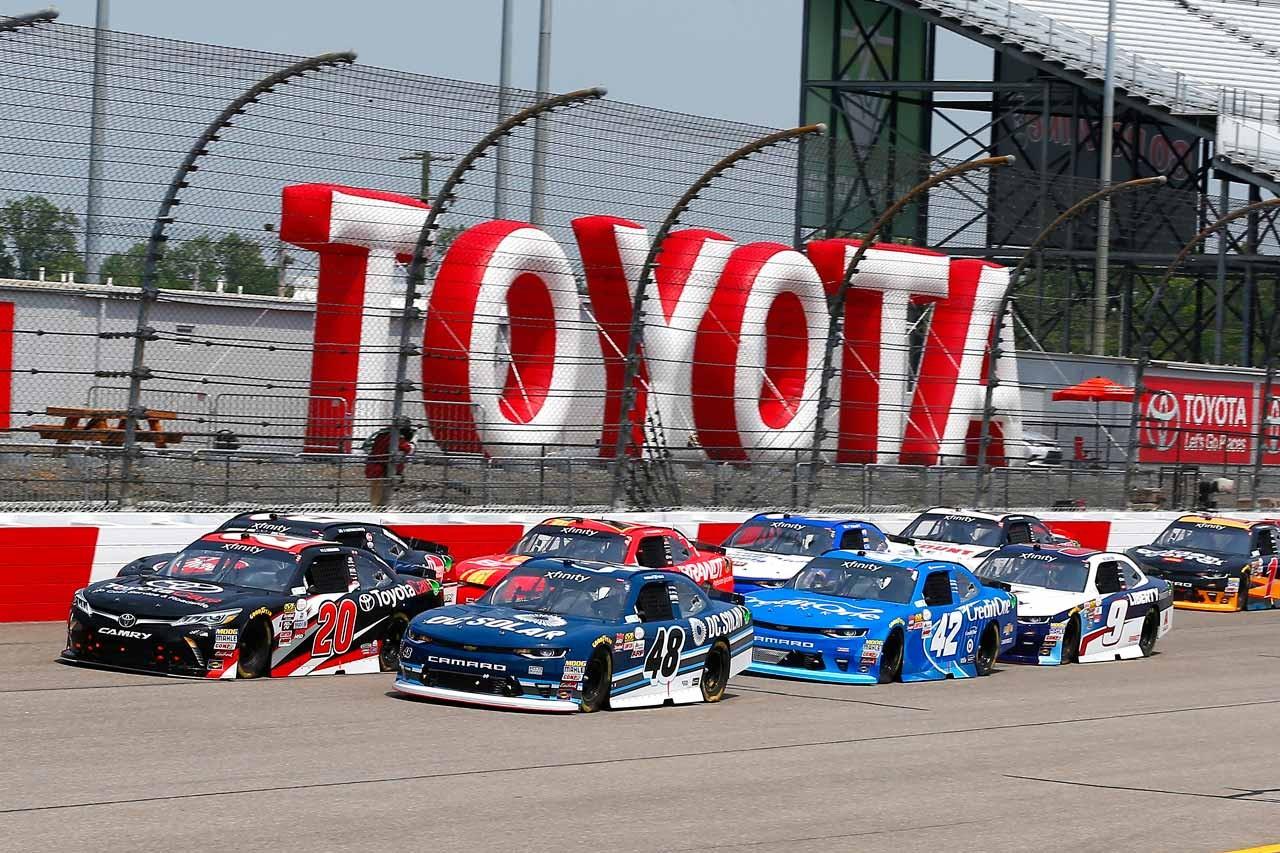 TOYOTA GAZOO Racing 2017年NASCAR第9戦リッチモンド レースレポート