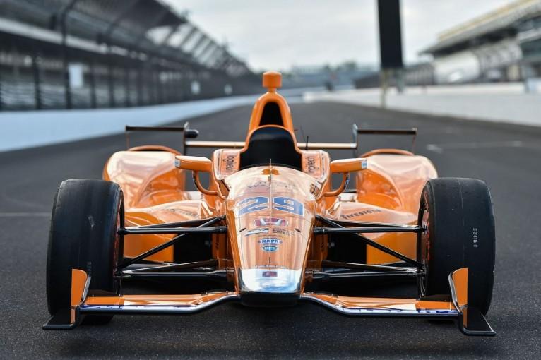 F1 | アロンソのインディ500マシン&ヘルメットのカラーリングが発表