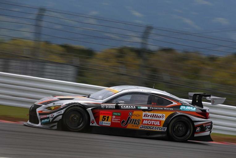 スーパーGT   JMS P.MU LMcorsa RC F GT3 スーパーGT第2戦富士 予選レポート