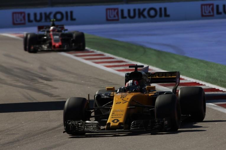 F1 | ヒュルケンベルグ「ルノーF1チームは課題のレースペースで一歩前進を遂げた」