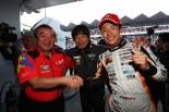 スーパーGT第2戦富士GT300クラスで優勝を飾ったJMS P.MU LMcorsa RC F GT3