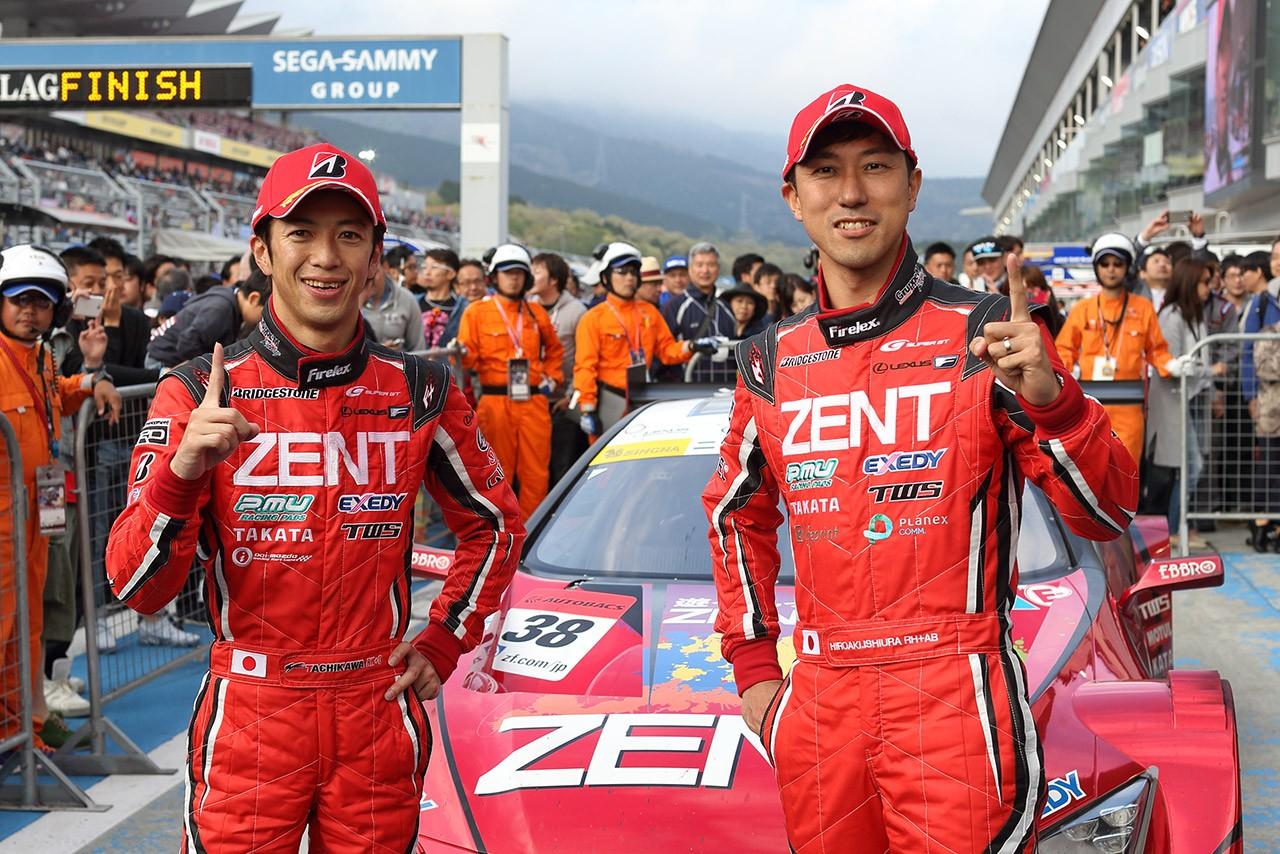 LEXUS TEAM ZENT CERUMO スーパーGT第2戦富士 決勝レポート