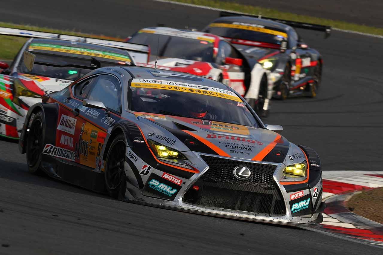 JMS P.MU LMcorsa RC F GT3 スーパーGT第2戦富士 決勝レポート