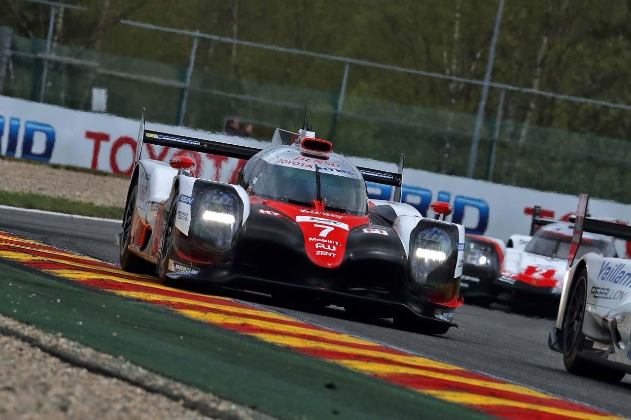 WEC第2戦:可夢偉が駆るトヨタ7号車が初日最速。ル・マン仕様で挑むトヨタ9号車は5番手