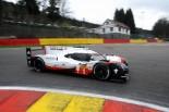 今季初ポールポジションを獲得した1号車ポルシェ919ハイブリッド