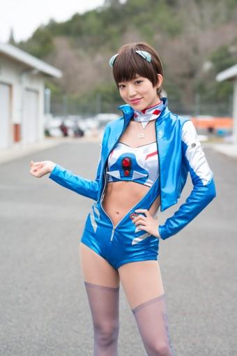レースクイーン | 柳本絵美(エヴァンゲリオンレーシングレースクイーン/2017SGT)