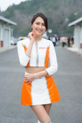 レースクイーン   大津リサ(au Circuit Queen/2017SGT)