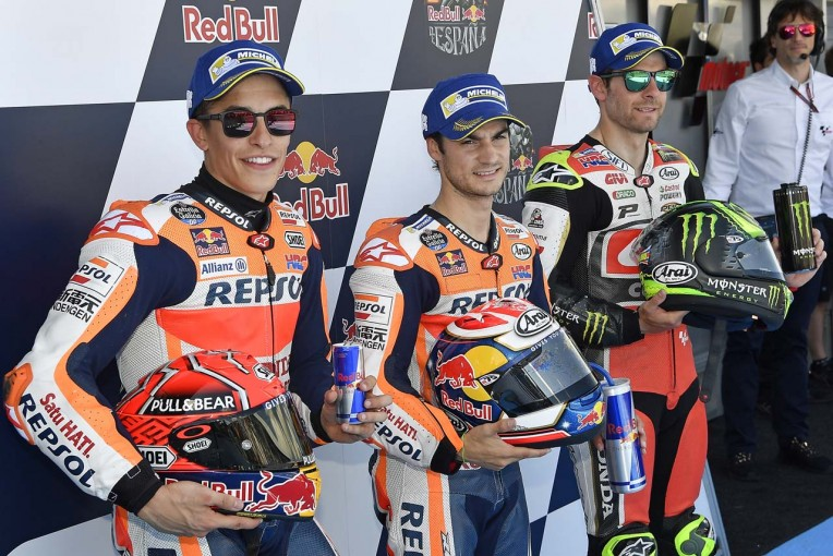 MotoGP | MotoGP:ペドロサ「マルケスがついて来るのはわかってた」/第4戦スペインGP予選日コメント