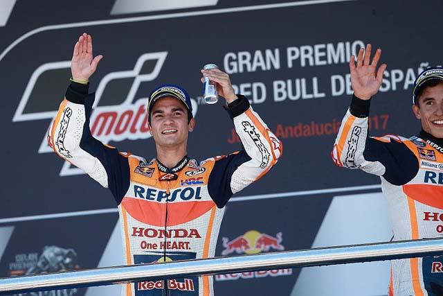 MotoGP | MotoGP:ペドロサ「ハードタイヤは快適ではなかった」/MotoGP第4戦スペインGP決勝日コメント