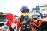 86/BRZ第2戦オートポリス プロフェッショナルシリーズで優勝した青木孝行(ケーエムエスフェニックス86)