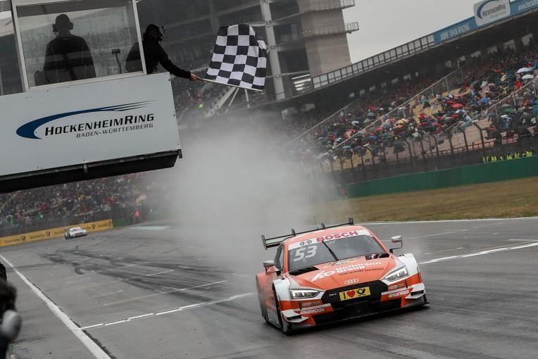 海外レース他 | DTM:雨に耐えペナルティを跳ねのけたグリーンが第2戦を制す