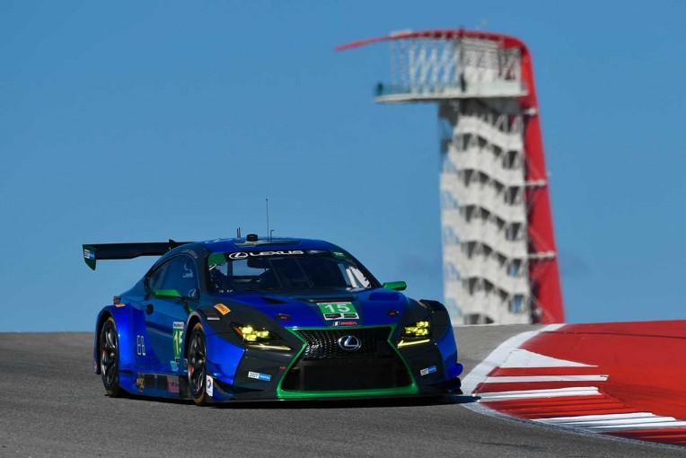 ル・マン/WEC | IMSA第4戦:レクサス今季2度目のトップ10。「車高が0.4mm低くなければ表彰台に」