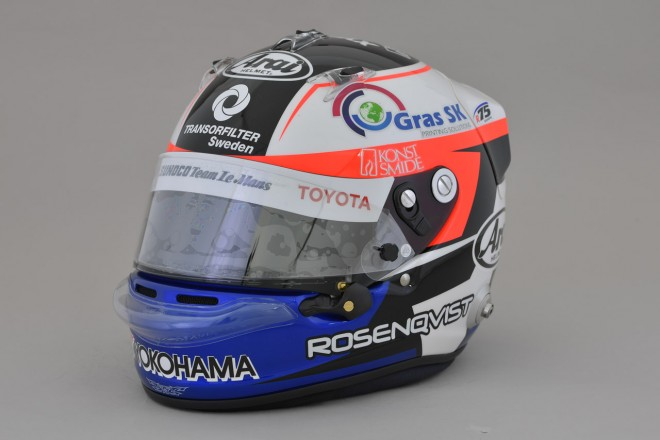 スーパーフォーミュラ   フェリックス・ローゼンクヴィスト(スーパーフォーミュラ) 2017 2017年のヘルメット1