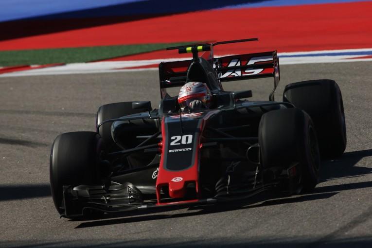 """F1   """"複雑すぎる""""ブレーキに悩むハースF1、スペインではブレンボを使用。CI製のテストも続行"""