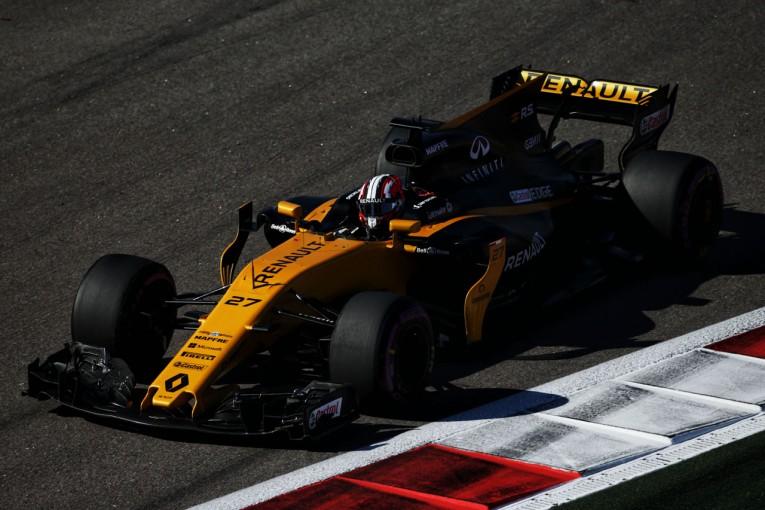 F1 | ルノーF1、新ウイングに好感触。スペインでさらなる空力アップデート