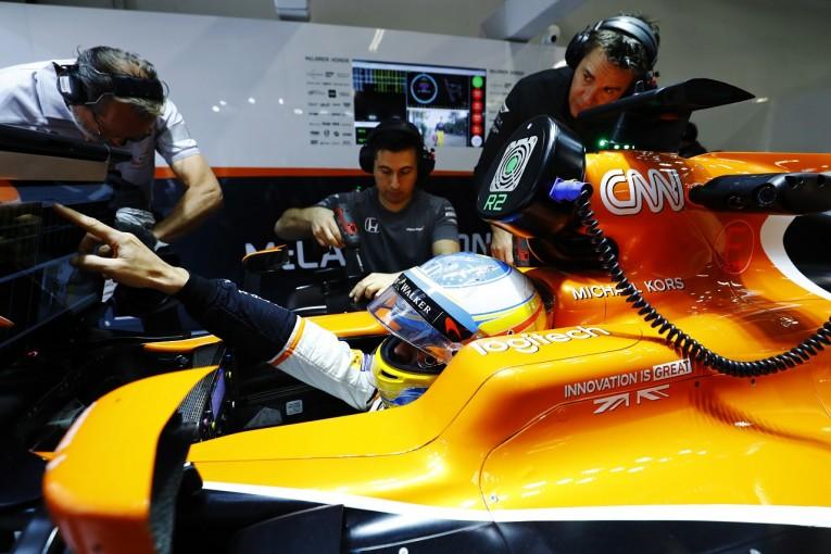 F1   マクラーレン・ホンダF1、スペインでアップデート導入も、アロンソの一番の願いは「トラブル解決と完走」