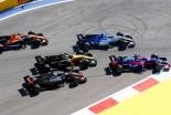 F1ロシアGP決勝 ロマン・グロージャンはスタート直後のパーマーとの接触