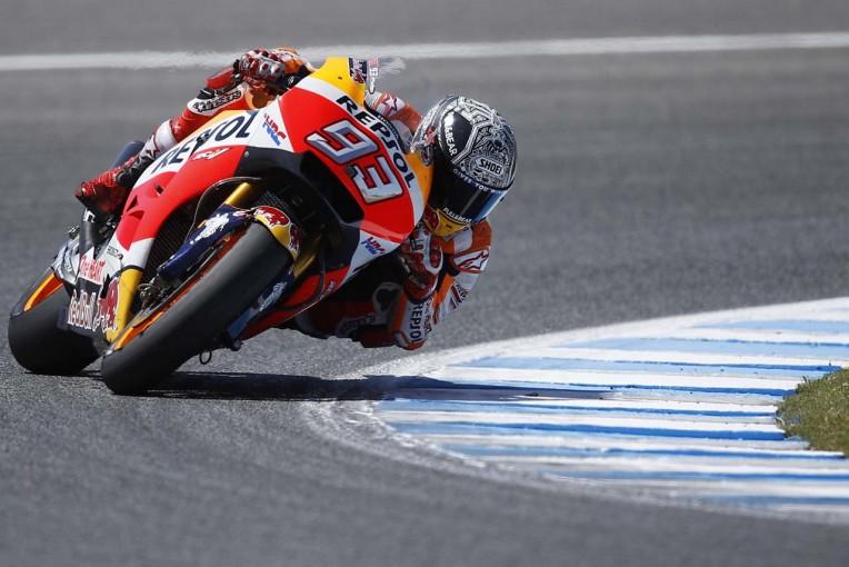 MotoGP | MotoGP:ホンダのマルケスがへレスで新型エキゾーストをテスト