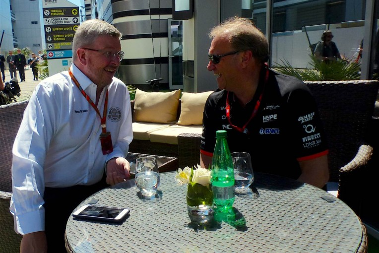 F1   【あなたは何しに?】CanAmにインディカー。フォース・インディアF1副代表の意外な一面