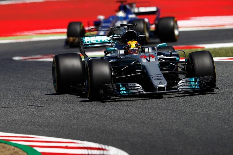 F1 | F1スペインGP FP2:初日はメルセデスがワン・ツー、地元の声援を受けアロンソも周回