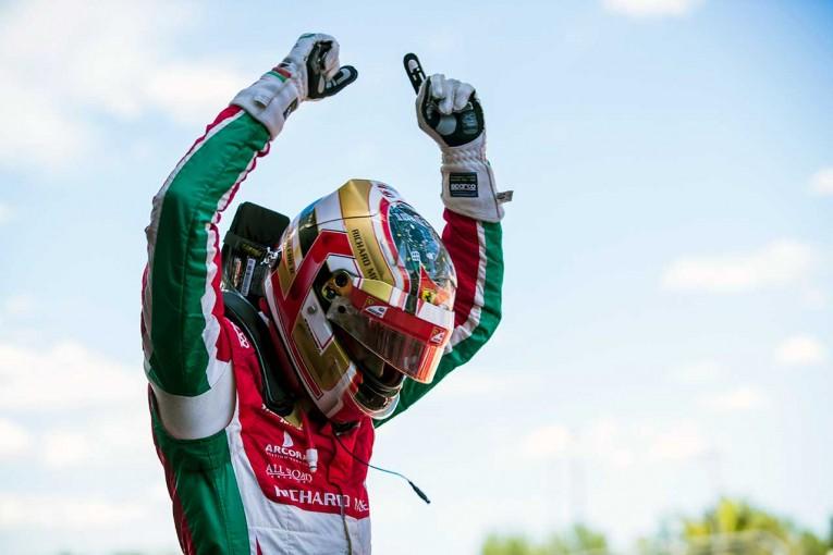 海外レース他   FIA F2スペイン決勝1:驚異の新人ルクレールが2勝目。松下信治、表彰台まであと一歩