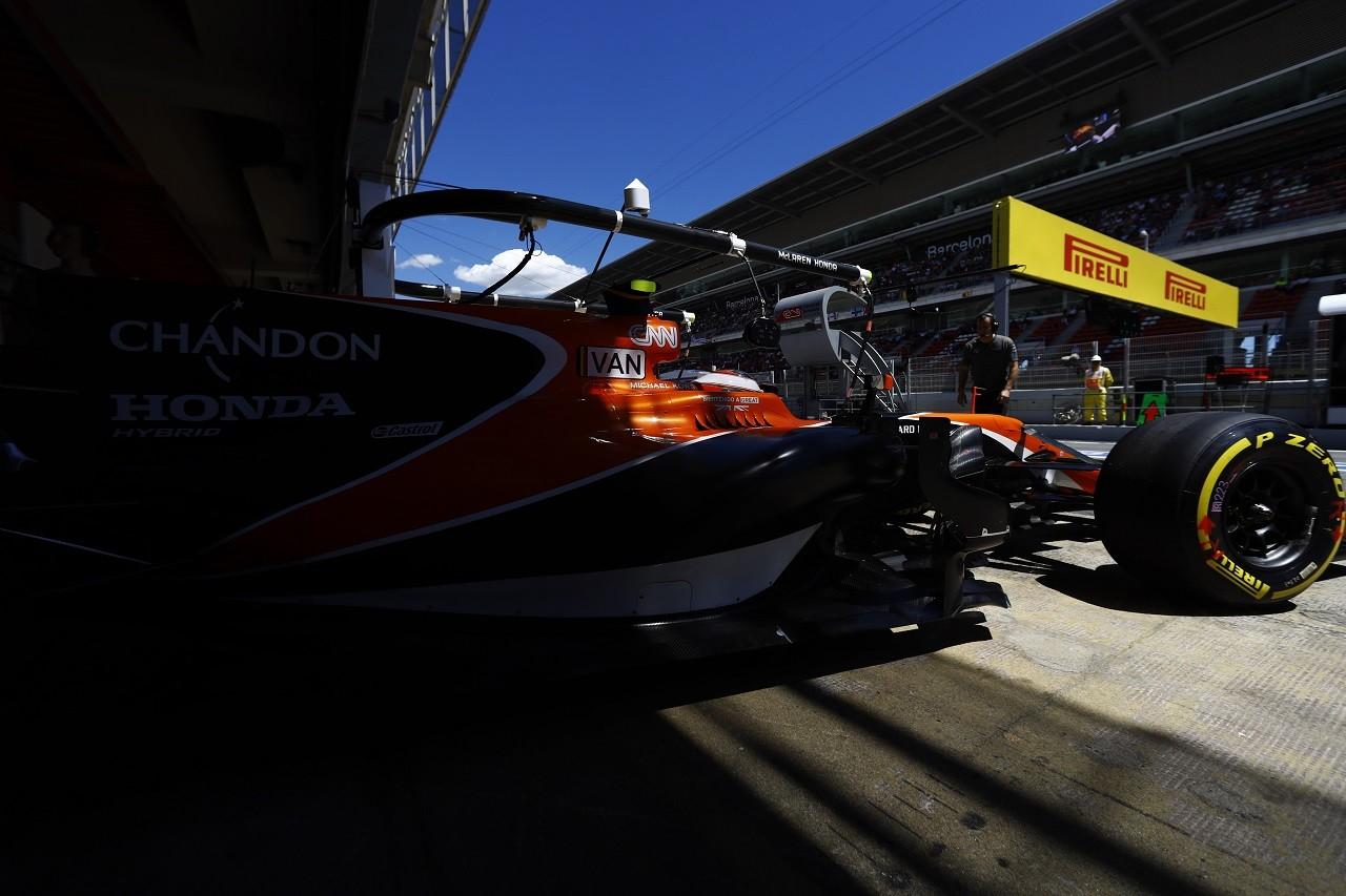 2017年F1第5戦スペインGP ストフェル・バンドーン(マクラーレン・ホンダ)
