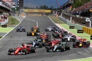 F1スペインGP決勝スタート