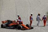 2017年F1第5戦スペインGP ストフェル・バンドーン(マクラーレン・ホンダ)がフェリペ・マッサ(ウイリアムズ)と接触し、リタイア
