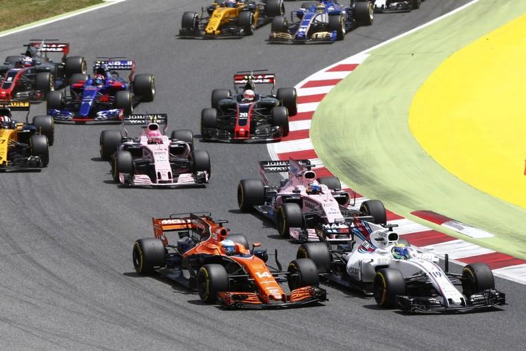 F1   アロンソ「接触で入賞を逃したんじゃない。速さがなかった」マクラーレン・ホンダ F1スペインGP日曜