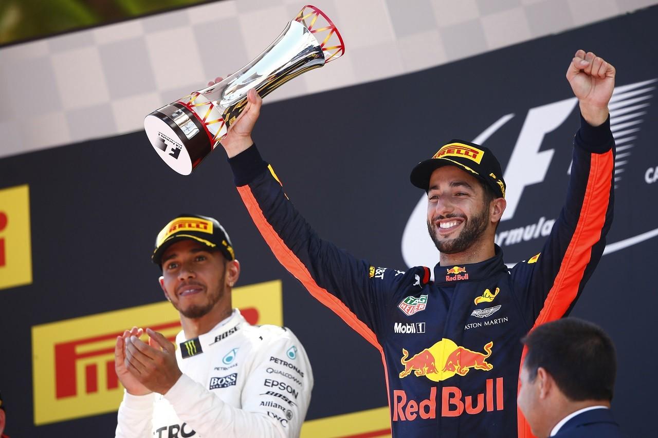 2017年F1第5戦スペインGP ダニエル・リカルド(レッドブル)が今季初表彰台