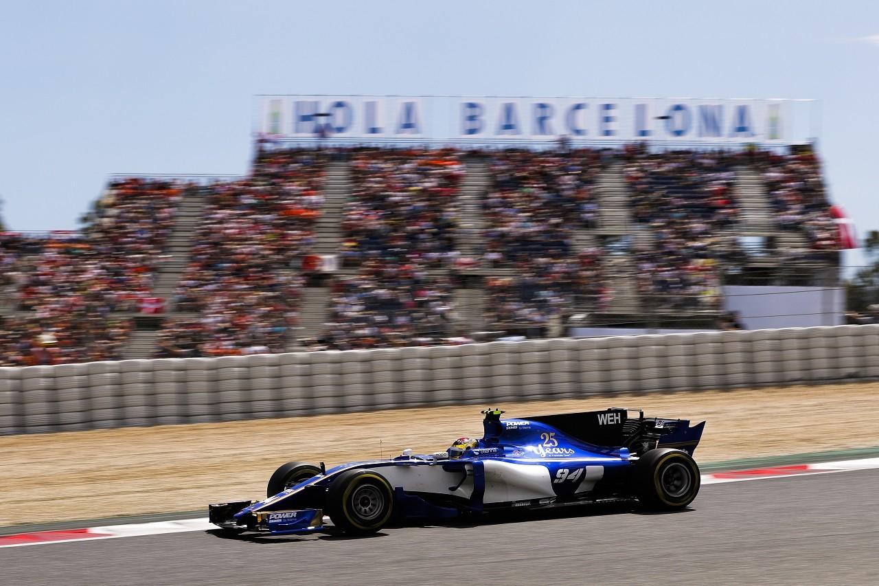 2017年F1第5戦スペインGP パスカル・ウェーレイン(ザウバー)