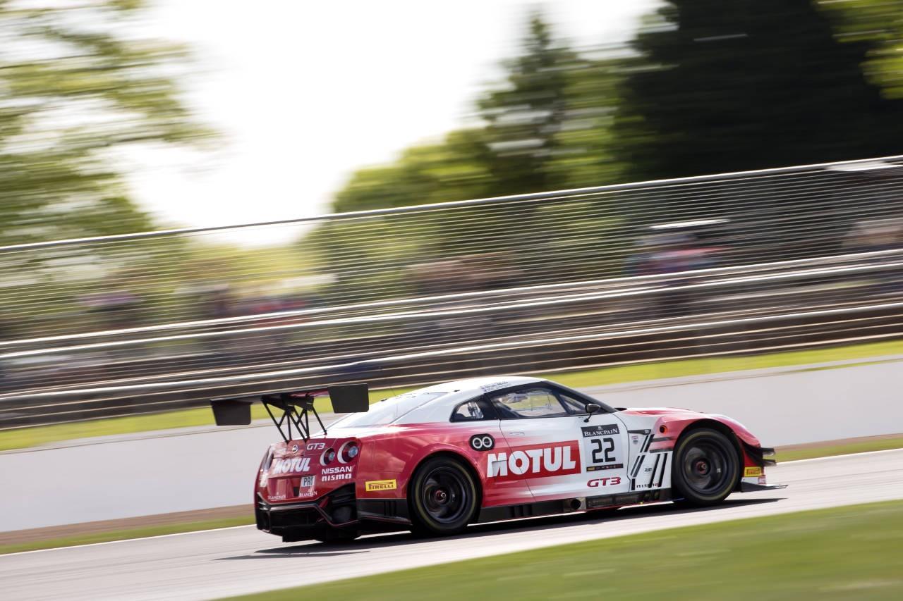 ブランパンGT:GRTウラカンが0.3秒差の接戦制し2連勝。千代勝正組GT-Rは痛恨のペナルティ