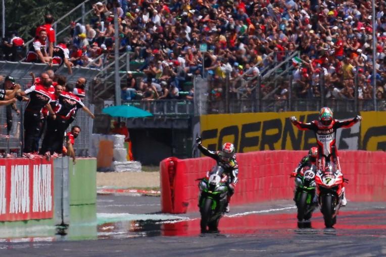 MotoGP | SBK第5戦イモラ レース2/波乱の幕開けもドゥカティのデイビスが優勝しダブルウイン