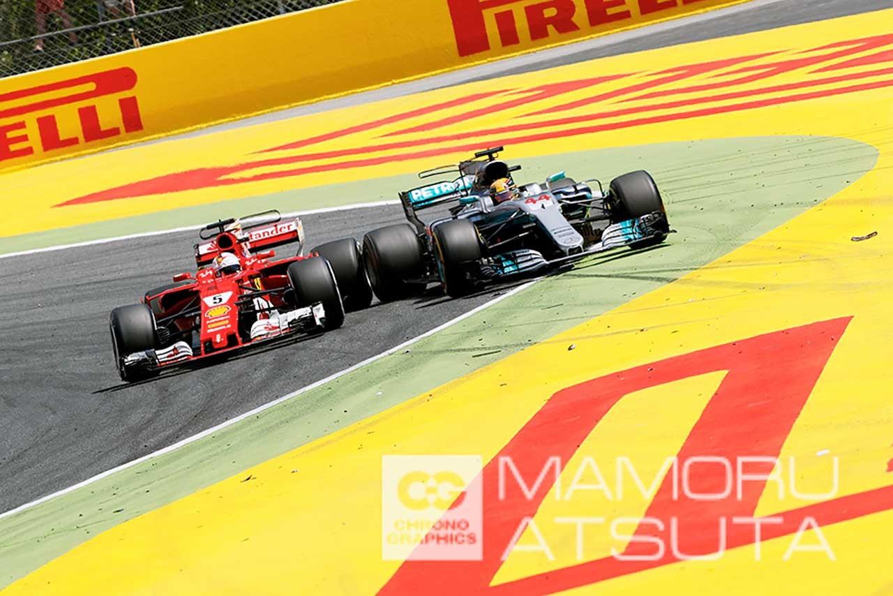 F1スペインGP日曜日