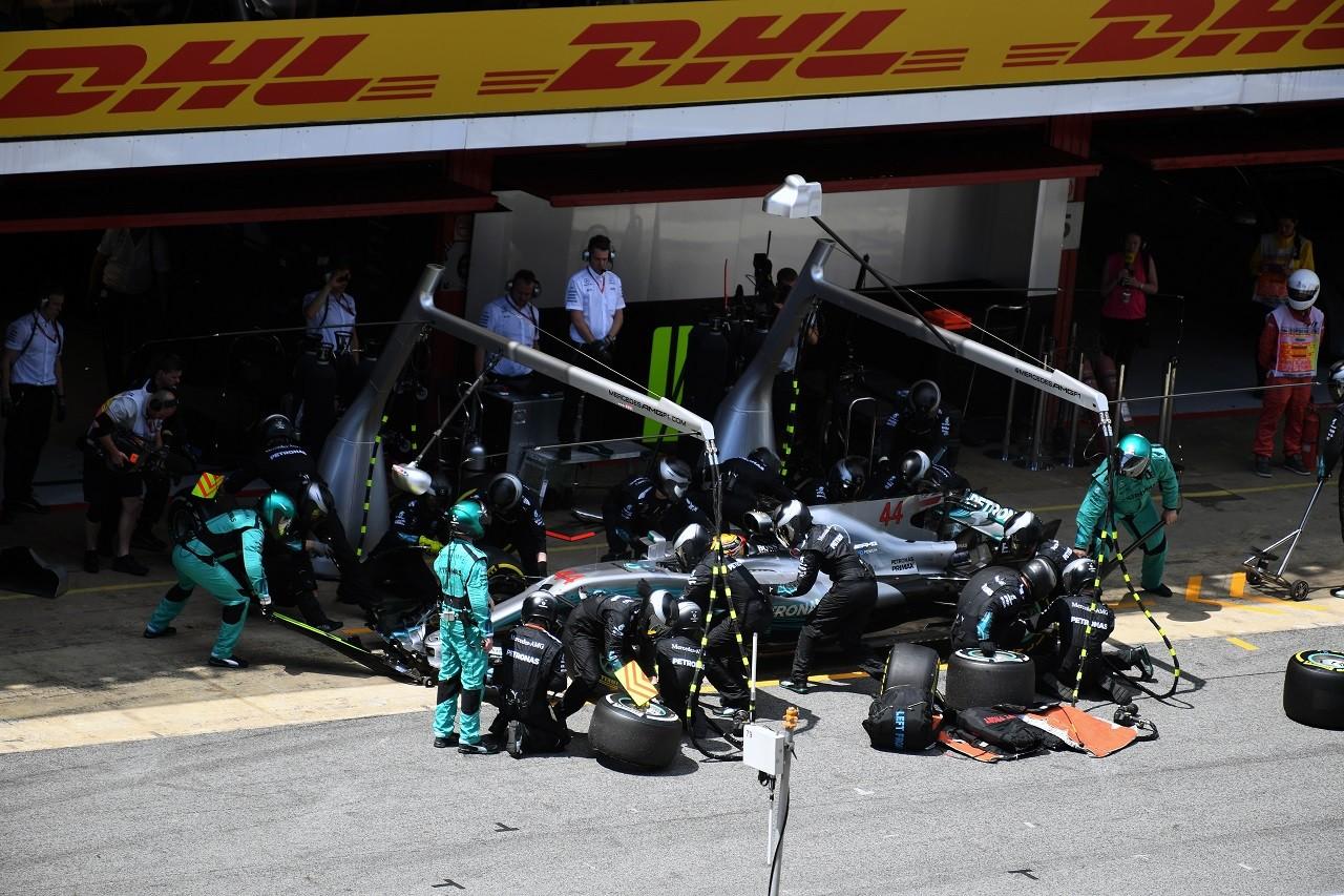 2017年F1第5戦スペインGP ルイス・ハミルトン(メルセデス)