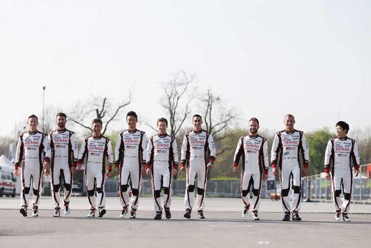2017年、TOYOTA GAZOO RacingからWEC世界耐久選手権に挑むドライバーたち