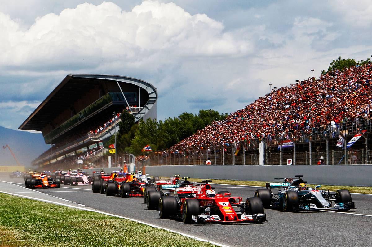 F1スペインGP決勝