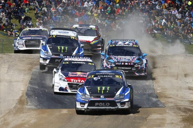 ラリー/WRC | 世界ラリークロス:WRC生まれのポロが第4戦で今季初勝利。ソルベルグ0.009秒差で3位