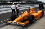 強風のなか、4番手のスピードを記録したフェルナンド・アロンソ