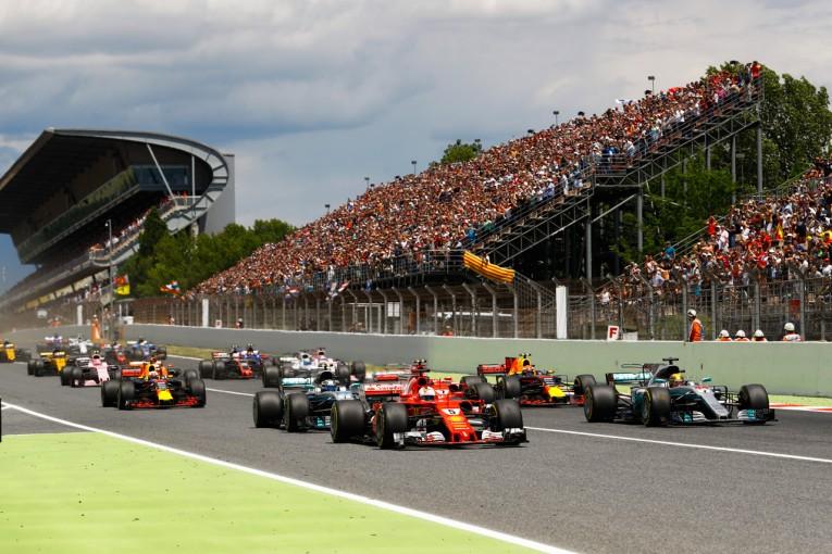 2017年F1スペインGPのスタート
