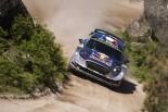 ラリー/WRC | WRCポルトガル:オジエが総合首位で最終日へ。3連勝狙うヌービルが16秒差で追う
