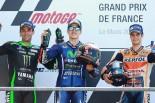 MotoGP第5戦フランスGP 表彰台