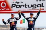 ポルトガル通算5勝目を挙げたセバスチャン・オジエ(フォード・フィエスタWRC)