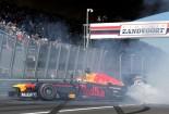F1 | フェルスタッペンが母国のザントフールトでレコードタイムを記録。F1デモ走行で大観衆を沸かせる