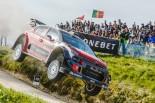 シトロエン勢最上位の総合5位でフィニッシュしたクレイグ・ブリーン(シトロエンC3 WRC)