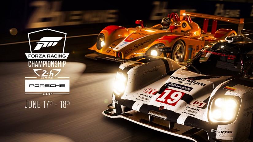 ル・マン/WEC   ポルシェ、ル・マン24時間でeスポーツレース『Forza RC ポルシェ カップ』を開催