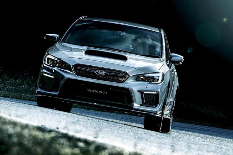 クルマ   スバル、ハンドリング性能を高めた改良型『WRX STI』を発表。6月20日発売