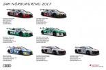ル・マン/WEC | アウディ、史上最多のエントリーでニュルブルクリンク24時間耐久レースに参戦