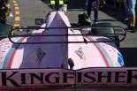 """2017年F1第6戦モナコGP水曜 フォース・インディアが導入した""""トリプル""""Tウイング"""