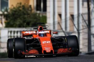 F1モナコGP 木曜フリー走行 ジェンソン・バトン